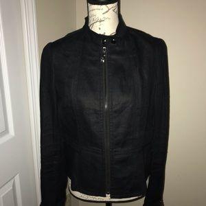 Ann Taylor linen jacket size sm.